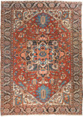 Rugs & Textiles:Carpets, A Heriz Carpet, Northwest Persia, circa 1920. 11 feet 4 in. long x7 feet 7 in. wide. ...
