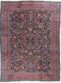 Rugs & Textiles:Carpets, A Mashad Carpet, Northeast Persia, circa 1920. 11 feet 4-1/2 in.long x 8 feet 4-1/2 in. wide. ...