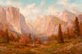 Fine Art - Painting, American:Contemporary   (1950 to present)  , Heinie Hartwig (American, b. 1937). The Way it Was,Yosemite. Oil on Masonite. 24 x 36 inches (61.0 x 91.4 cm).Signed l...
