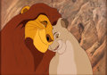 Animation Art:Limited Edition Cel, The Lion King Mufusa and Sarabi Exclusive Limited EditionCel (Walt Disney, 1994). ...