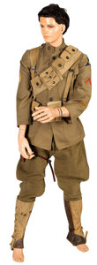 Military & Patriotic:WWI, Complete U.S. WWI-Era Cavalry Enlisted Man's Uniform and Equipment.... (Total: 2 Items)