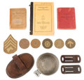 Military & Patriotic:WWI, WWI Period Diverse U.S. Cavalry Lot....