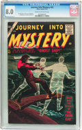 Silver Age (1956-1969):Horror, Journey Into Mystery #43 (Marvel, 1957) CGC VF 8.0 Cream tooff-white pages....