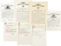 Military & Patriotic, Document Archive to Major Ruth M. Kempton (nee Roberts), USMCR, 1943-1959....