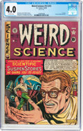 Golden Age (1938-1955):Science Fiction, Weird Science #12 (#1) (EC, 1950) CGC VG 4.0 Off-white pages....
