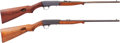 Long Guns:Semiautomatic, Lot of Two Remington Semi-Automatic Rifles.... (Total: 2 Items)