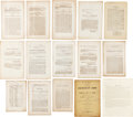 Miscellaneous:Ephemera, Confederate Imprints: An Important Collection of 280 Examples....(Total: 2 Items)