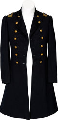 Militaria:Uniforms, Civil War Union Officers' Frock Coat Attributed to Lt. ColonelElisha Hunt Rhodes, 2nd Rhode Island Infantry....