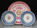 Asian:China Trade, Three Chinese Export Porcelain Wares, late 18th-early 19thcenturies. 9-3/4 inches diameter (24.8 cm) (largest). PROVENANC...(Total: 3 Items)