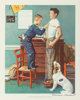 Norman Rockwell (American, 1894-1978) Keep Myself Physcally Strong Colored poster 11 x 8-3/4 inches (27.9 x 22.2 cm)