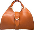 "Luxury Accessories:Bags, Gucci Brown Leather Tote Bag. Very Good Condition. 15"" Width x8.5"" Height x 5"" Depth. ..."