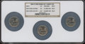 Statehood Quarters, 2004-D 25C Wisconsin MS67 NGC. NGC Census: (540/76). PCGSPopulation: (398/390).... (Total: 3 coins)