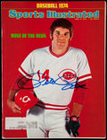 "Baseball Collectibles:Publications, Pete Rose Signed ""Sports Illustrated"" Magazine...."