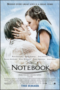 """The Notebook & Others Lot (New Line, 2004). One Sheets (10) ( Average Size 27"""" X 40"""") DS. Romance. ... (To..."""
