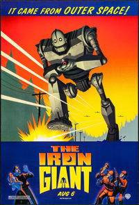 "The Iron Giant (Warner Brothers, 1999). One Sheet (27"" X 40"") DS. Animation"