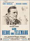 "Movie Posters:War, The Heroes of Telemark (Columbia, 1966). French Grande (45.25"" X62""). War.. ..."