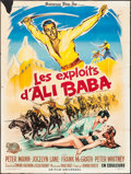 "Movie Posters:Adventure, The Sword of Ali Baba (Universal International, 1965). French Grande (47"" X 62.5""). Adventure.. ..."