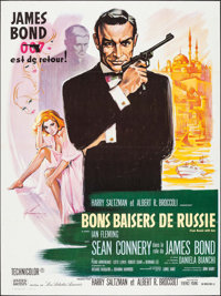 """From Russia with Love (United Artists, R-1970s). French Grande (47"""" X 63""""). James Bond"""