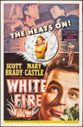 """Movie Posters:Crime, White Fire (Lippert, 1953). One Sheet (27"""" X 41""""). Crime.. ..."""