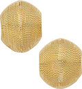 Estate Jewelry:Earrings, Gold Earrings . ...
