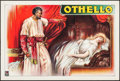 """Movie Posters:Foreign, Othello (c.1920s). British Theatre Poster (20"""" X 30""""). Drama.. ..."""