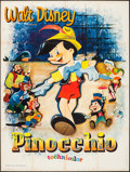 """Movie Posters:Animation, Pinocchio (Walt Disney Productions, R-1964). French Grande (47.25""""X 63.25""""). Animation.. ..."""
