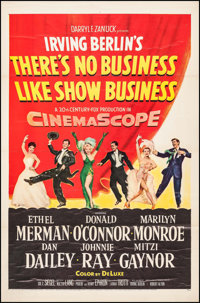 """There's No Business Like Show Business (20th Century Fox, 1954). One Sheet (27"""" X 41""""). Musical"""