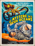 "Movie Posters:Foreign, The Secret of Two Oceans (Sovexportfilm, 1957). French Grande (47"" X 63""). Foreign.. ..."