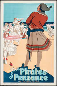 """The Pirates of Penzance (Stafford & Co., Ltd., ca. 1930s). British Theater Poster (20"""" X 30""""). Musical..."""