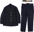 Militaria:Uniforms, Grand Army of the Republic Jacket, Pants and Belt.... (Total: 3Items)