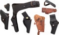Arms Accessories:Holsters, Lot of Six Miscellaneous Holsters.... (Total: 6 Items)