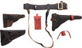 Arms Accessories:Holsters, Lot of Miscellaneous Holsters and Gun Leather....