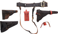 Lot of Miscellaneous Holsters and Gun Leather