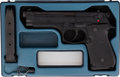 Handguns:Semiautomatic Pistol, Boxed and Cased Beretta Model 92F Semi-Automatic Pistol....