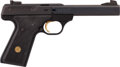 Handguns:Semiautomatic Pistol, Browning Buck Mark Model Semi-Automatic Pistol....