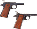 Handguns:Semiautomatic Pistol, Lot of Two Colt Government Model Semi-Automatic Pistol Frames.... (Total: 2 Items)
