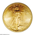 Saint-Gaudens Double Eagles: , 1926-S $20 MS65 PCGS. One of the more attractive 1926-S Saints toever come our way, this distinctive Gem representative is...