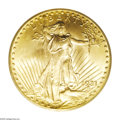 Saint-Gaudens Double Eagles: , 1931 $20 MS65 PCGS. Among Saint-Gaudens Double Eagles, the 1931 isconsidered to be one of the top seven rarest issues in t...