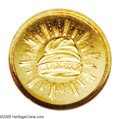 Patterns: , 1836 PG$1 Gold Dollar, Judd-67, Pollock-70, R.5, PR65 NGC. Theobverse depicts a Liberty cap with rays of glory surrounding...