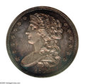 Patterns: , 1838 P50C Half Dollar, Judd-72, Pollock-75, R.5, PR67 Cameo NGC.The obverse depicts a draped bust of Liberty facing left. ...