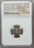 Ancients:Greek, Ancients: MACEDONIAN KINGDOM. Perseus (179-168 BC). AR drachm (2.54gm). NGC Choice AU 5/5 - 4/5....