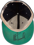 Baseball Collectibles:Hats, Alan Trammell Game Worn, Signed Detroit Tigers Cap. ...