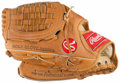 Baseball Collectibles:Others, Frank Tanana Signed Glove....