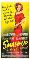 "Movie Posters:Drama, Smash-Up: The Story of a Woman (Universal International, 1947).Three Sheet (41.5"" X 80"").. ..."