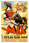 "Movie Posters:Western, The Texas Bad Man (Universal, 1932). One Sheet (27.5"" X 41"").. ..."
