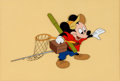 Animation Art:Color Model, The Simple Things Mickey Mouse Color Model Cel (Walt Disney,1953)....