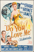 "Movie Posters:Musical, Do You Love Me (20th Century Fox, 1946). One Sheet (27"" X 41""). Musical.. ..."