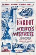 """Movie Posters:Foreign, Nero's Mistress (Manhattan Films, 1962). First U.S. Release One Sheet (27"""" X 41""""). Foreign.. ..."""