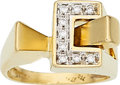 Estate Jewelry:Rings, Gold, Diamond Ring. ...
