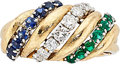 Estate Jewelry:Rings, Diamond, Sapphire, Emerald, Gold Ring . ...